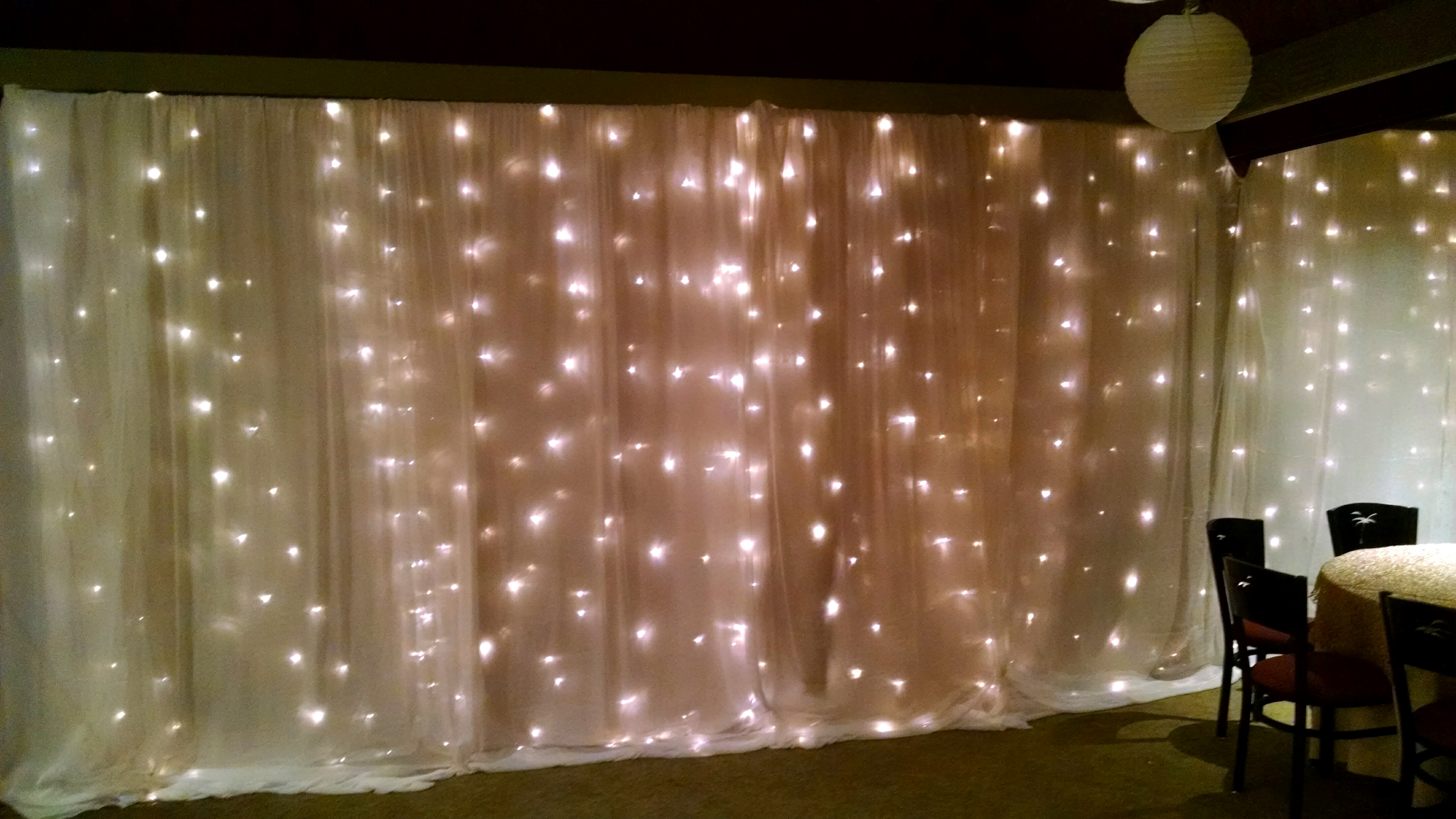 Twin Wall Lights With Pull Cord : Decorating - ET Events Kauai